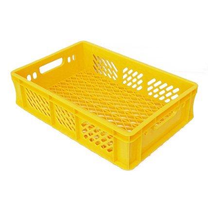 keltainen ritilälaatikko leivälle