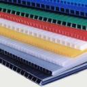 Corrugated PP  2500x1180x3, 450g/m2