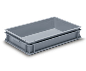 Muovilaatikko, 600x400x117