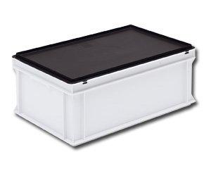 laatikon kansi jossa ESD suojaus ellektroniikkateollisuuden tarpeisiin