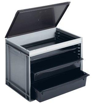 ESD-tarjotinlaatikko, 600x400x425