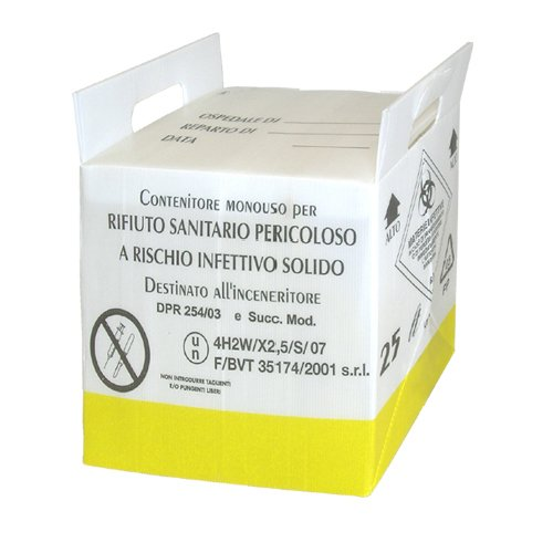 25 litrainen riskijäteastia biojätteelle