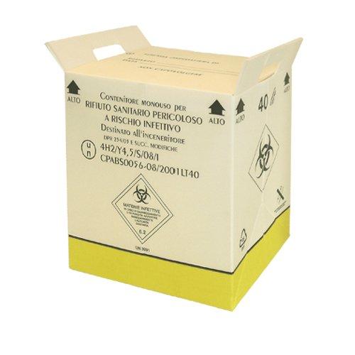 40 litrainen un-hyväksytty riskijäteastia biojätteelle