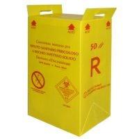 50 litrainen un-hyväksytty riskijäteastia biojätteelle