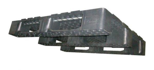 Muovinen kuormalava 1200x1000x152, 1500/2500 kg