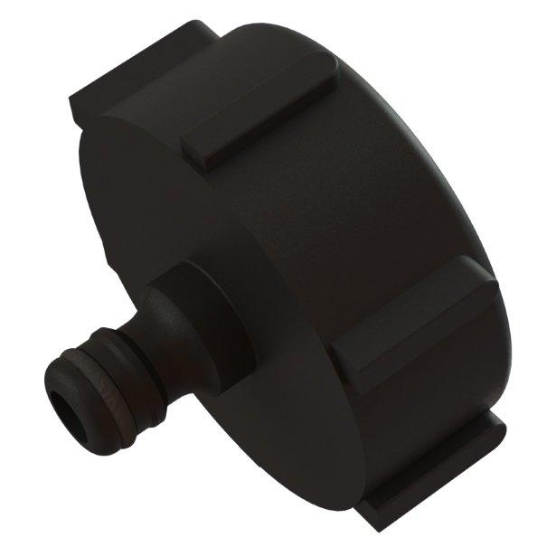 IBC-kontin adapteri S60X6 -> 12,5mm Hozelock pikaliitin