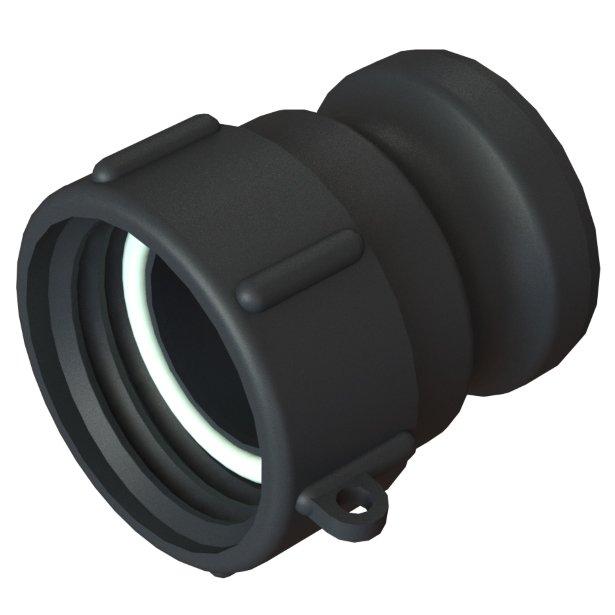 """IBC-kontin adapteri S60X6 -> 2"""" Camlock"""