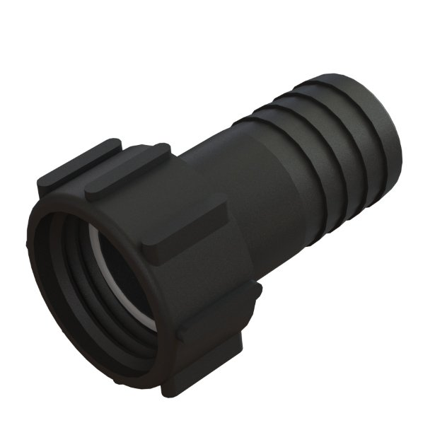 """IBC-kontin adapteri S60X6 -> 2"""" letkukaralla"""