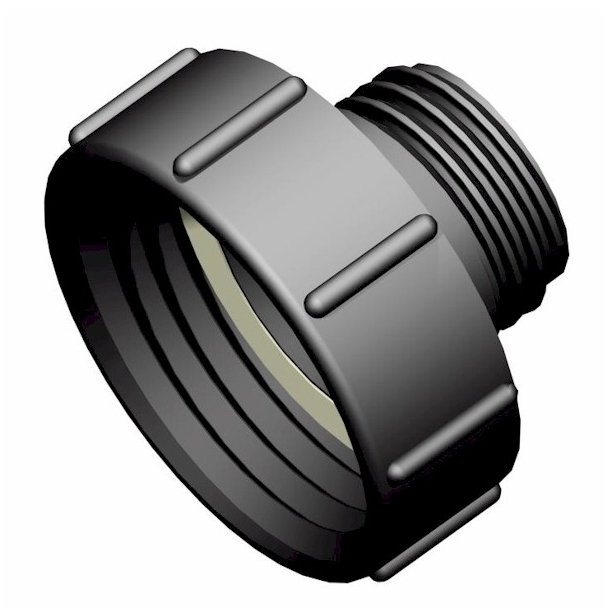 IBC-kontin adapteri S100X8 -> S60X6 uros