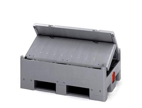 Kokoontaittuva sisäpussillinen IBC-kontti, 500 l