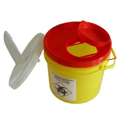 3,5 litrainen un-hyväksytty riskijäteastia neuloille ja teräville esineille