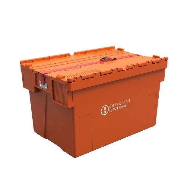 Muovilaatikko 600x400x310-400, UN -hyväksytty, VAK