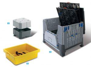 räätälöityjä laatikoita, laatikko kuulalaakerin kuljetukseen, laatikko liukuhihnalle sekä komponenttitarjottimia