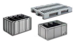 mittatilaus laatikoita muovista teollisuuden käyttöön