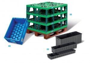 erilaisia ratkaisuja teollisuuden käyttöön muovilaatikoista